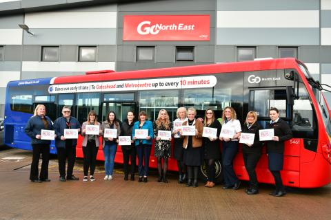 Go North East champions its 200-strong driving force of inspiring women