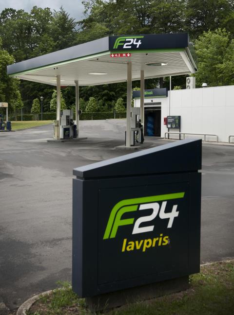 Ny F24-station åbner på Hirtshalsmotorvejen