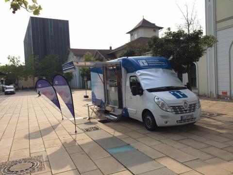 Beratungsmobil der Unabhängigen Patientenberatung kommt am 13. November nach Nordhausen.