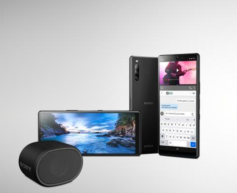 Sony Xperia L4 met 21:9 kijkervaring vanaf nu verkrijgbaar