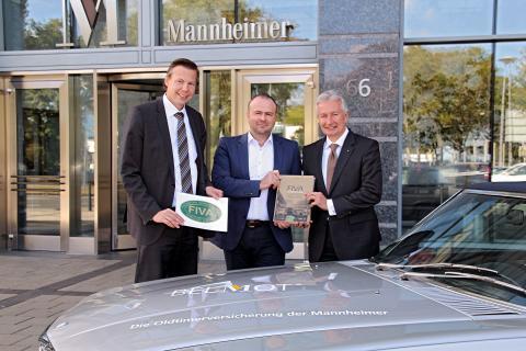 FIVA Weltverband für historische Automobile nimmt ersten Versicherer auf - Mannheimer Versicherung mit Marke BELMOT® Mitglied