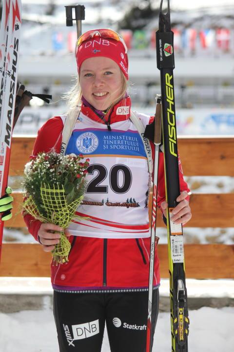6. plass til Karoline Erdal i junior-VM