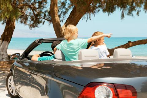 Flest lejer bil på Mallorca