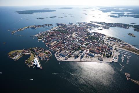 Världsarvsstaden Karlskrona har fått en egen fest - en skärgårdsfest
