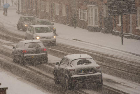 Drivers facing the risk of snow and ice - RAC statement