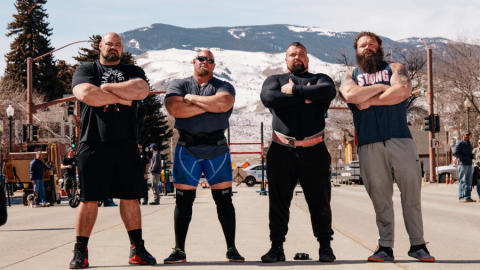 Press Pack - The Strongest Men in History