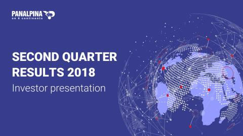 Half-year Results 2018 – Investor Presentation