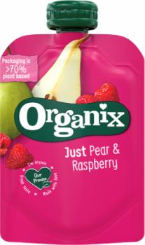 7510 Organix just pear and raspberry