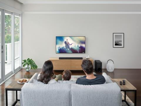 De ultieme thuisbioscoop: Sony introduceert HT-G700 en HT-S20R soundbars
