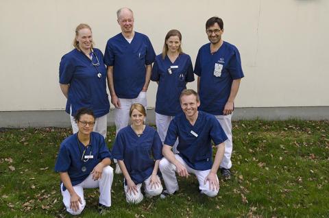Dreamteam inom kirurgi på Evidensia Djursjukvård
