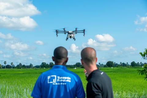 DJI Agras MG1-S Spray Drone