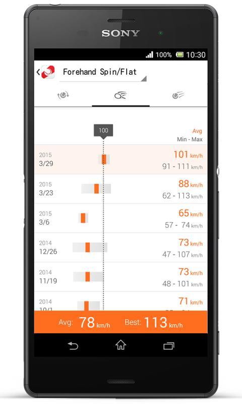 SSE-TN1W von Sony_App Screen_01