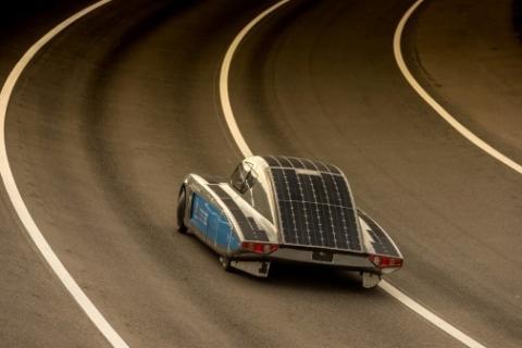 Unterwegs zur World Solar Challenge