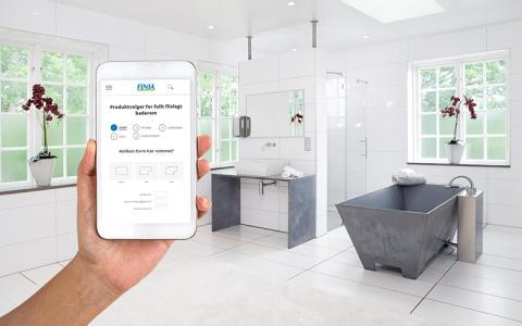 Digitalt verktøy for oppussing av bad