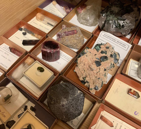 Mineralsamlingen