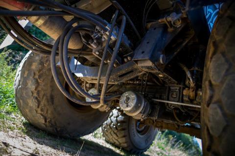 """Vom Feld auf den Bau: Preisgekrönte Antriebsachse """"AGRO Drive"""" von BPW auch für Bau-Anhänger verfügbar"""