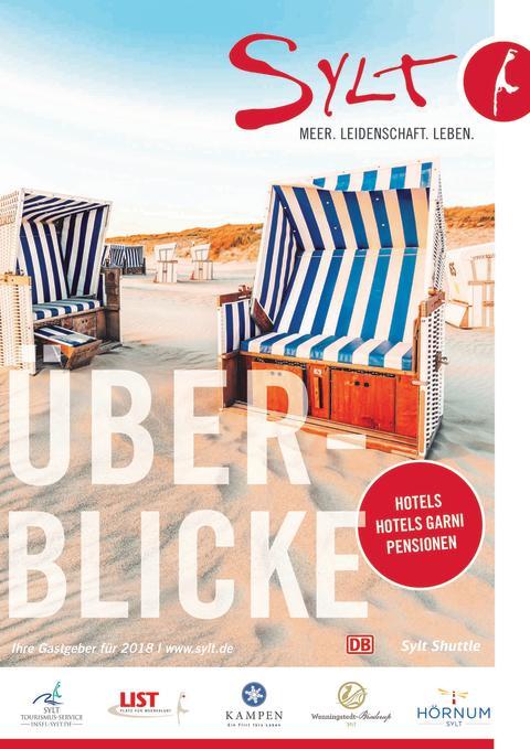 Gastgeberverzeichnis 2018: Hotels und Pensionen