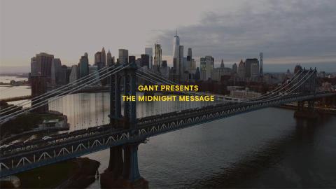 GANT visar ny dokumentärfilm på skyskrapa i New York-natten