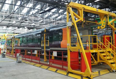 West Midlands Railway - Class 730 - Bombardier production line