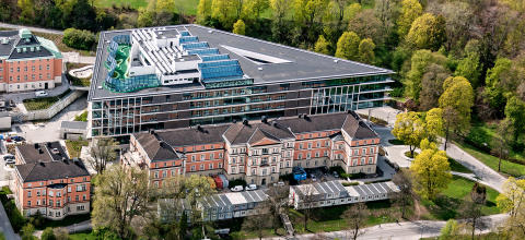 Psykiatrins hus på Akademiska en av världens mest imponerande sjukhusbyggnader