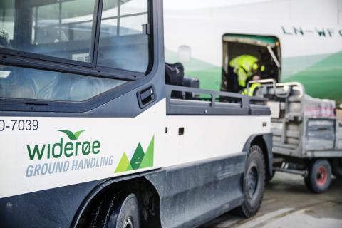 SAS tildeler stor kontrakt på bakketjenester til Widerøe Ground Handling