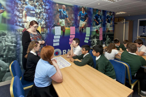 GLASGOW SCHOOLS RISE TOGETHER ABOVE SECTARIANISM AND RACISM