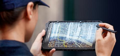 Galaxy Tab Active2 gjør hardt arbeid lett