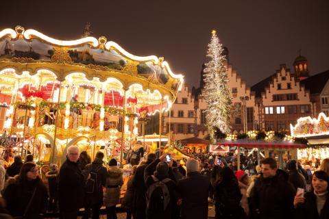 3. Weihnachtsbaum in Frankfurt am Main