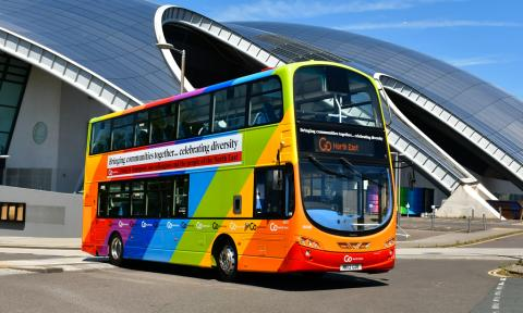 Go North East to celebrate LGBT+ History Month