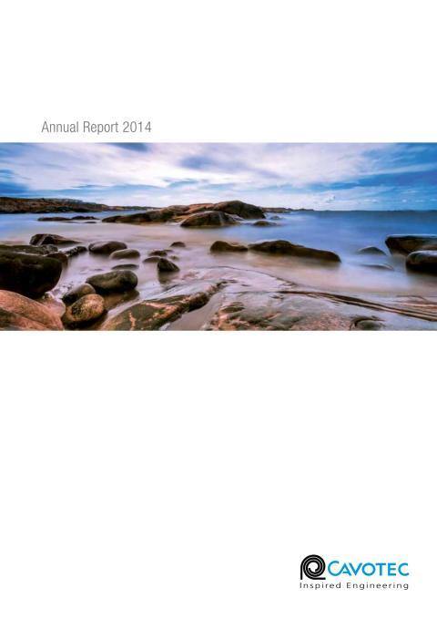 Cavotec Annual Report 2014