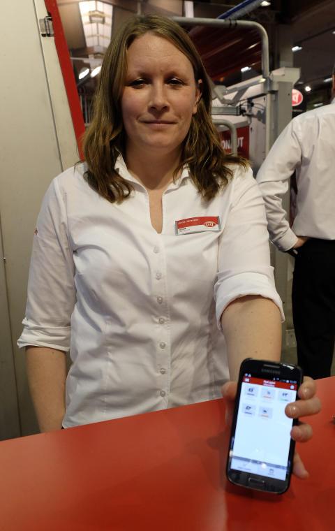 Anna Jarander, Lely - Elmia Lantbruk Djur & Inomgård 2015