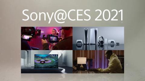 Sony Participa na CES 2021