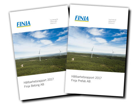 Finja hållbarhetsrapport