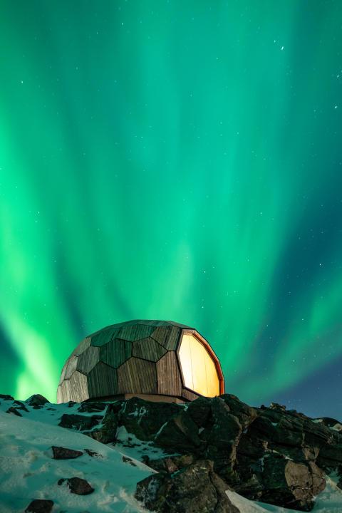 Wanderhütte Hammerfest