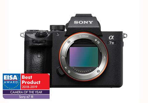 Sony on seitsenkertainen EISA-voittaja vuonna 2018
