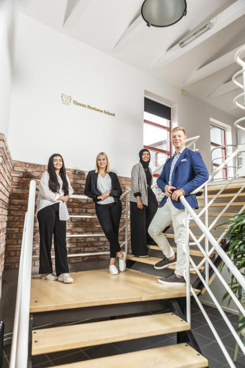 Thoren Business School Växjö vill vandra sin egen väg med annorlunda skolkoncept