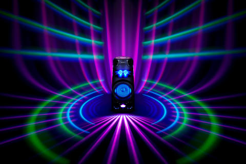 MHC-V73D_PartyLight-Large