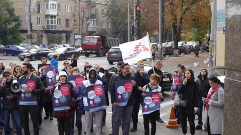 Demonstration Ukraina