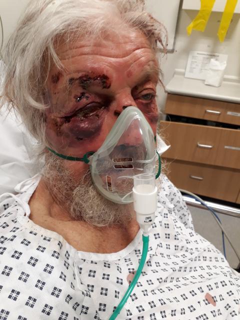 Image of the victim