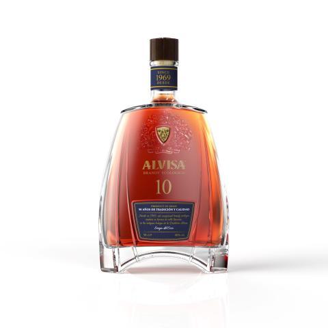 Medaljregn över Alvisa 10 Brandy Ecológico!