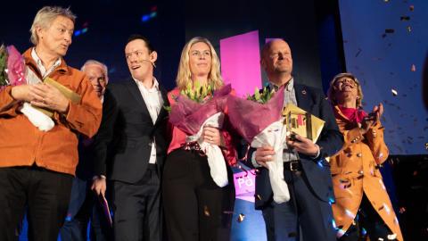 Lars Lerin och SBAB prisades i Örebro
