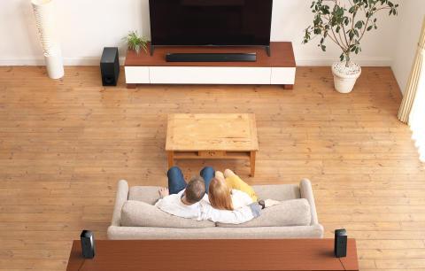 Il meglio dell'audio surround wireless nel segno della semplicità