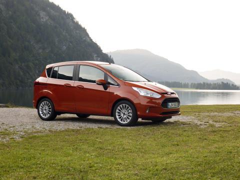 Nye Ford B-MAX fikk maks antall sikkerhetsstjerner