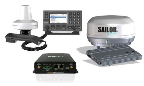 Sverigenyheter inom kommunikation  och Internet till sjöss premiärvisas på Båtmässan i Göteborg
