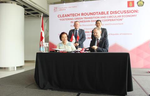 Danmark underskriver samarbejdsaftale med indonesisk energiselskab