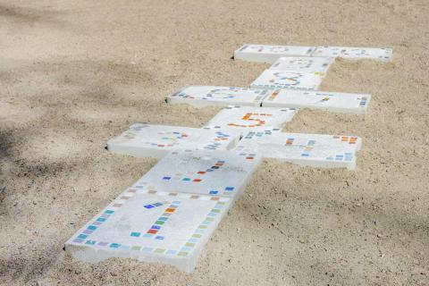 DIY - Gjut hoppahageplattor till barnen 2