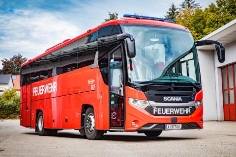 Scania Interlink HD für den Landes-Feuerwehrverband OÖ