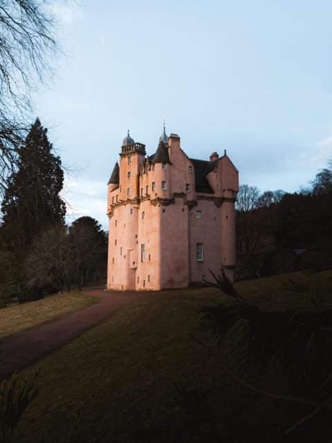 Craigievar Castle 1 - Sony Xperia 5 II