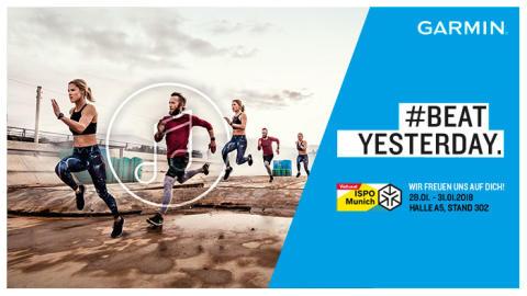 ISPO 2018: Garmin präsentiert Produkthighlights aus den Bereichen Running und Fitness