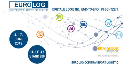 EURO-LOG at Transport Logistic: Digital logistics. End-to-end. In real time.